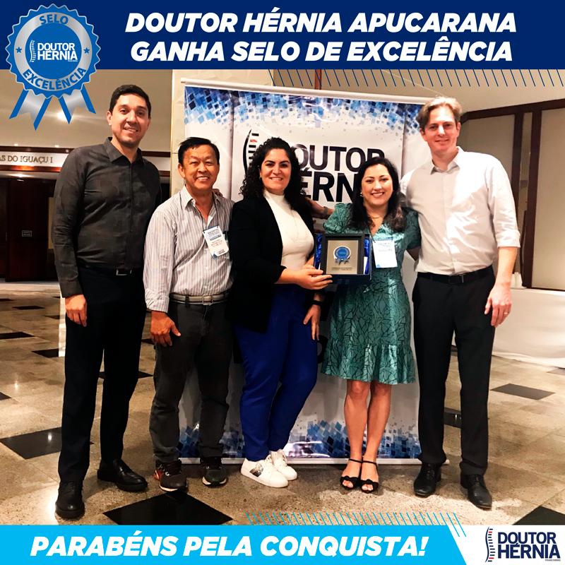 Unidade de Apucarana ganha selo de excelência